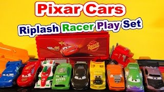 Pixar Cars Riplash Racers Rematch with Slow Motion Crashes