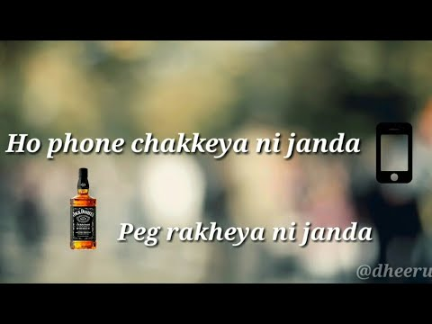 Peg di waashna  WhatsApp status  amrit maan feat.himanshi khurana #1