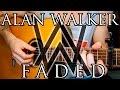РАЗБОР НА ГИТАРЕ Alan Walker Faded How To Play mp3