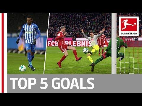Lewandowski, Kagawa, Kalou and More  - Top 5 Goals on Matchday 16