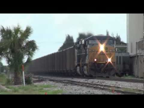 CSX N016-07 at Okeechobee, FL on the Auburndale Sub!