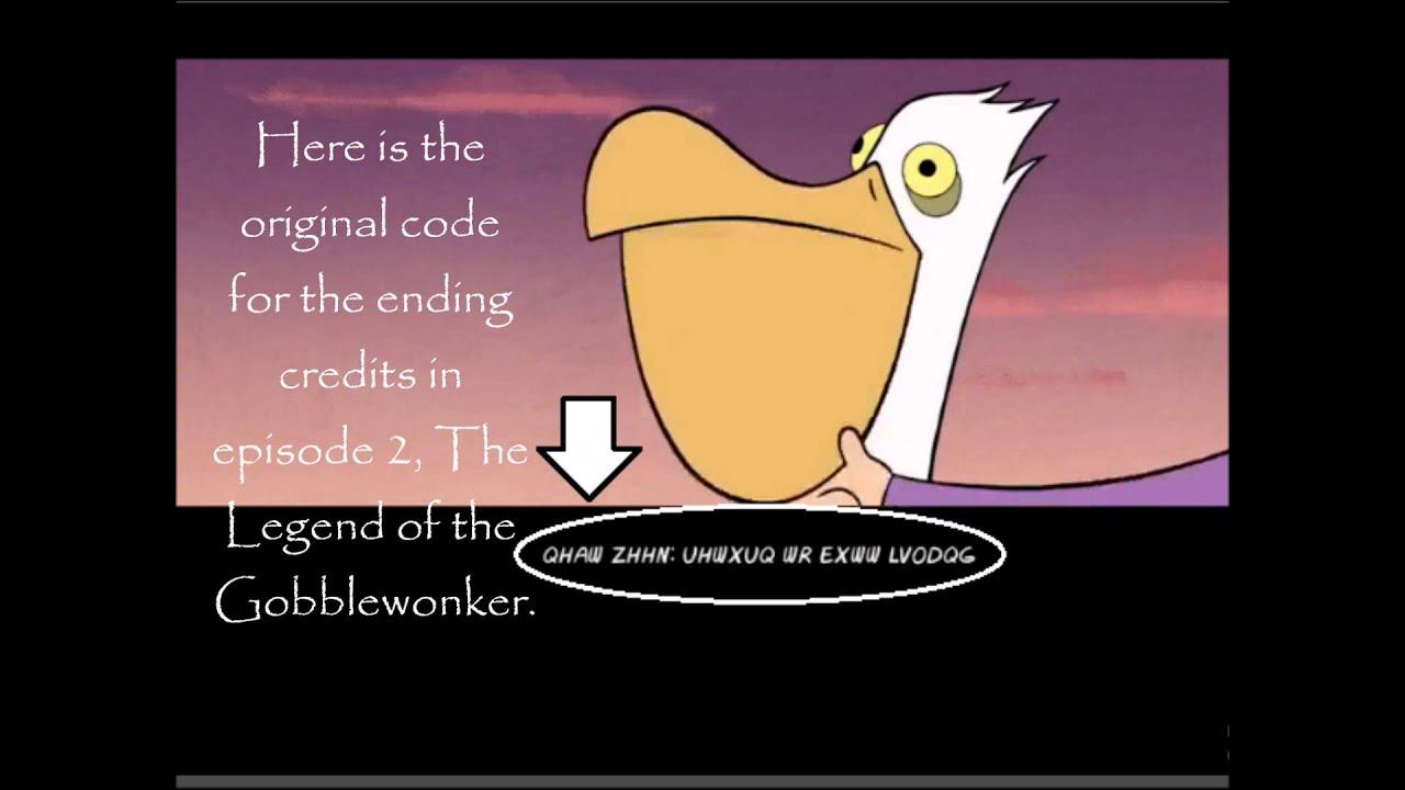 Gravity Falls Season Gravity Falls Ending Credits
