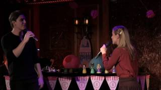 Christy Altomare And Derek Klena 34 At The Beginning 34 The Broadway Princess Party