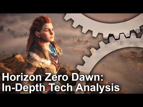 [4K] Horizon Zero Dawn In-Depth Tech Analysis