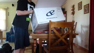 Unboxing My New CyberPower Gaming PC and LG Monitor