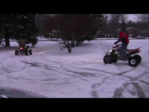 Quads in the Snow in HD