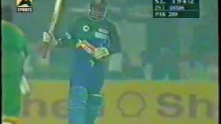 Sanath Jayasuriya 134 vs Pak at lahore 1997