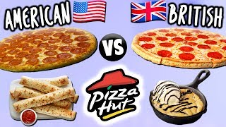 TASTING PIZZA HUT FOODS