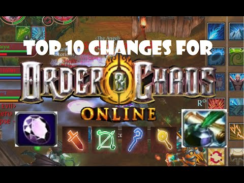 Top 10 Changes for Order and Chaos Online: Second Edition 11-15-14