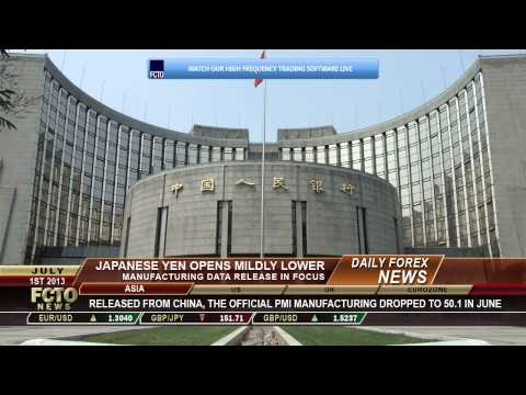 Daily Forex News July 1st 2013