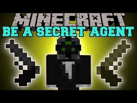 Minecraft: BE A SECRET AGENT (GADGETS, GUNS AND TUXEDOS) Secret Agent Mod Showcase