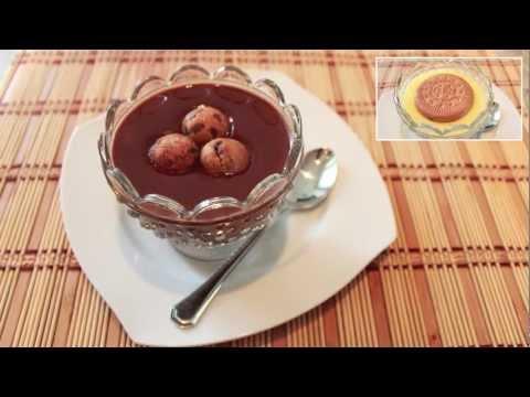 Receta de Natillas de Chocolate - Recetas de Postres Fáciles