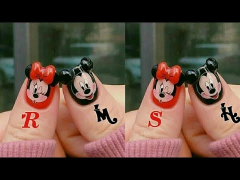 Mickey mouse nail art designs//Latest Stylish Nail Art designs//Fashion Trend of Nails art//Nails