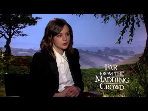 Carey Mulligan on FAR FROM THE MADDING CROWD and Strong Women in Film  (Exclusive Uncut)