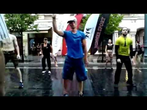 Power gym + AcroYoga in a tie Dublis 2
