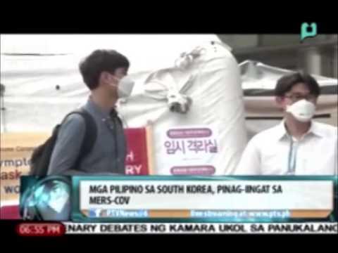 News@6: Mga Pilipino sa South Korea, pinag-iingat sa MERS-CoV