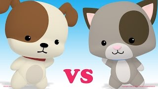 Puppies vs Kittens - Dance Battle