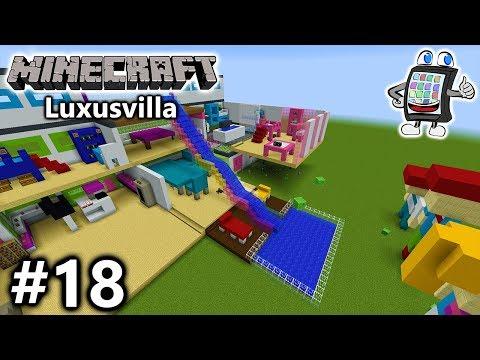 MINECRAFT Playmobil Luxusvilla Bauen FAMILIE VOGEL ACHTERBAHN - Minecraft hauser schnell bauen