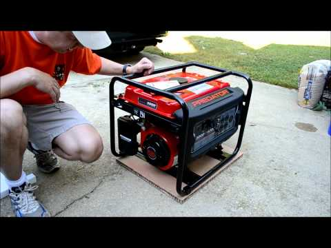 How To Set Up an Electrical Generator