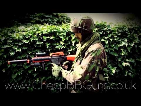 M83B2 Semi/Full Auto Electric Airsoft BB Gun Rifle