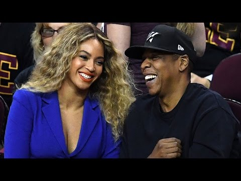 Beyonce and Jay Z Turn NBA Finals Into Date Night