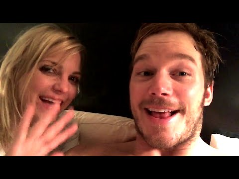 Chris Pratt & Anna Faris Video Message To Shane Hartline
