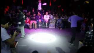 2012 DANCE@LIVE CHINA freestyle四強- 釣妹(hiphop) V.S 小陸(krump)