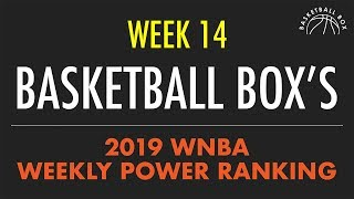 Basketball Box's 2019 WNBA Weekly Power Rankings (August 26 - September 1)