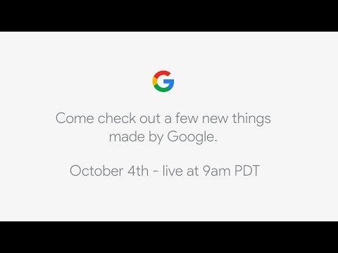 Google set to unveil latest Pixel smartphone