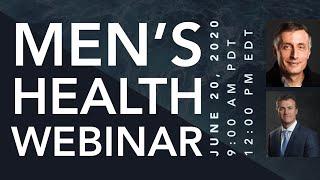 PCRI Men's Health Webinar with Mark Moyad, MD, MPH & ESPN's Vic Lombardi