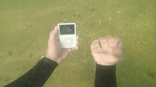 I Found An Original Apple IPod In The River While Searching For Treasure!