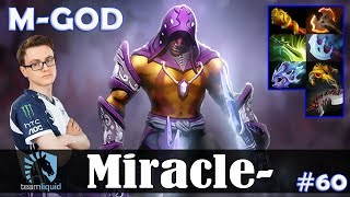 Miracle - Anti-Mage Safelane | M-GOD | Dota 2 Pro MMR Gameplay #60