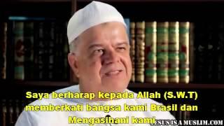 Video Islami Kesaksian Kisah Muallaf Pastor Asal Brasil Yang Masuk Islam