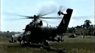 Mi 25 Hind. Peruvian Air Force