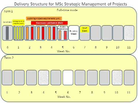MSc SMP delivery structure