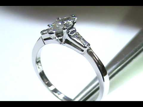 Es171wgmq Classic Marquise Diamond Engagement Ring With
