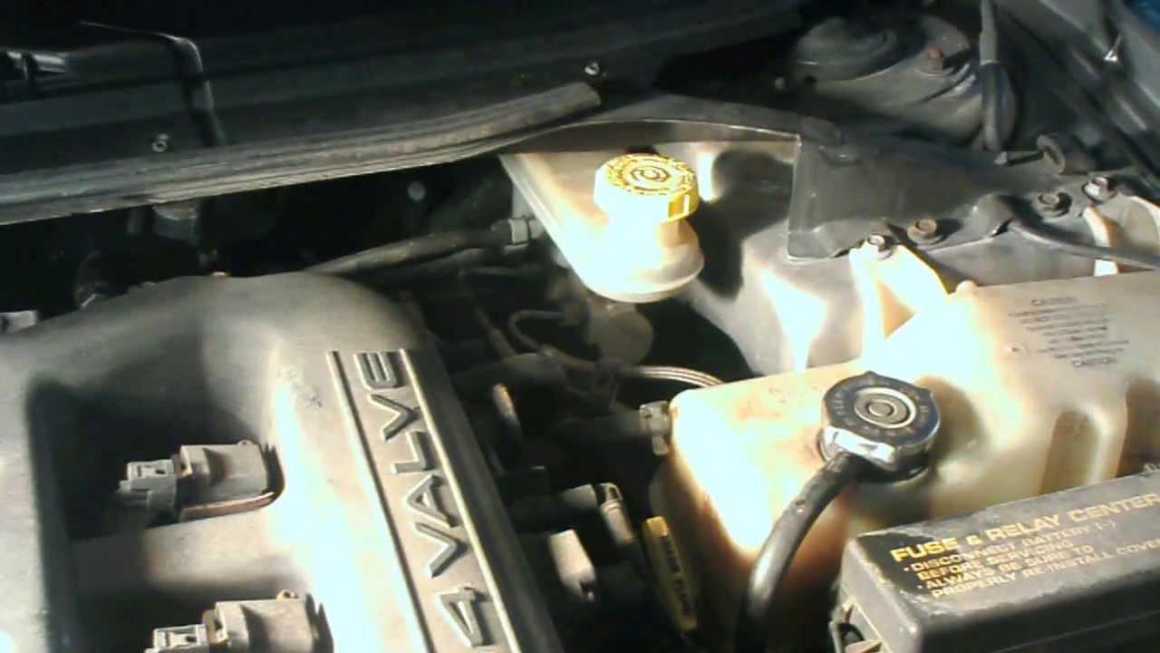 1999 Chrysler 300 M brake power booster replacement - YouTube