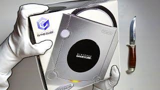 NINTENDO GAMECUBE UNBOXING! Limited Edition Platinum Console + Super Smash Bros Melee Gameplay