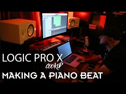 🔥 Logic Pro X Cookup Ep. 1 - Making a Piano Beat | Beat Maker Tutorials | producer