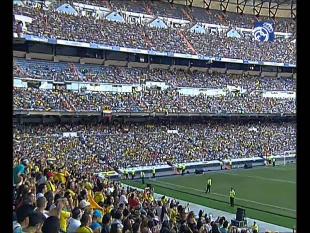 James Rodríguez's day at the Santiago Bernabéu