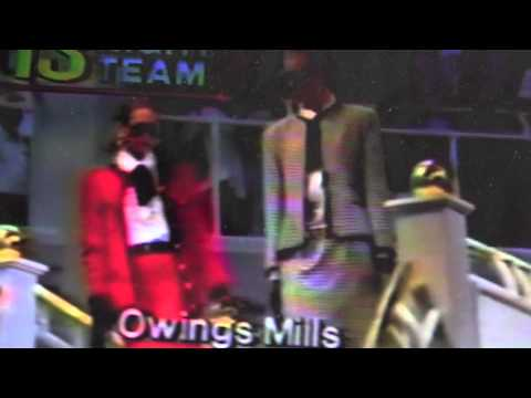 Television news coverage of the Owings Mills Fashion Mall, as it was called when it opened in 1986.