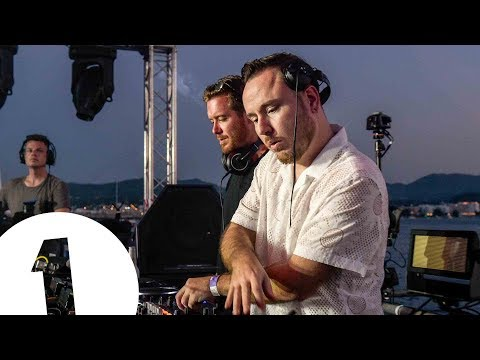 Duke Dumont & Gorgon City live at Café Mambo for Radio 1 in Ibiza 2017