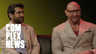 Dave Bautista and Kumail Nanjiani on 'Stuber' Stunts and Wrestlemania 35