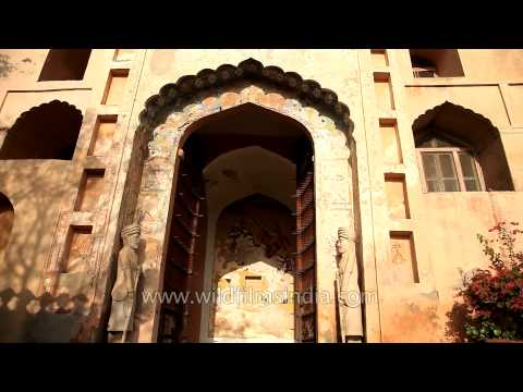 Neemrana Fort-Palace, one of India's prestigious heritage hotels
