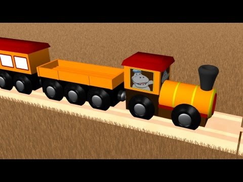 Learn numbers 1- 10. This toy number train teaches kids to count to number 10. Children who like woo