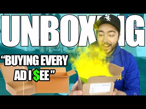 "UNBOXING Items From ""Buying Every Ad I See 3"" 