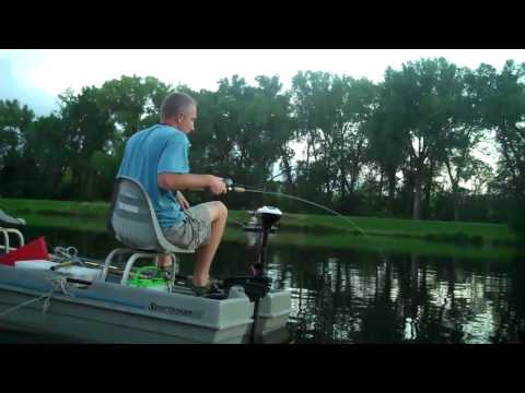 Small Boat. Bass Rod. Big Cat - Buglem at Two Rivers