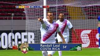 CU20: Costa Rica vs Trinidad & Tobago Highlights