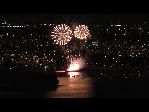 World's Largest Fireworks Competition Celebration of light Team Brazil