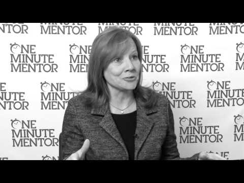 Hearst One Minute Mentor: Mary Barra on Agility